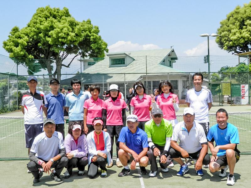 「湘南平TC ゴールド」のメンバー