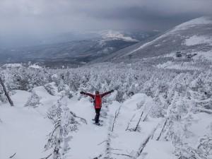 北八ヶ岳スノーシュー