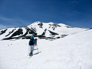 乗鞍岳バックカントリースキー